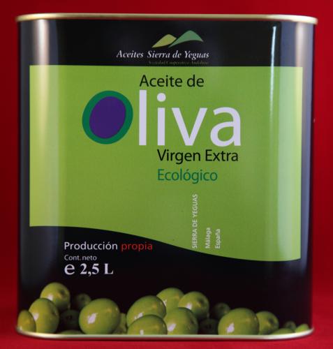 Aceite de Sierra de Yeguas de 2-5 Litros