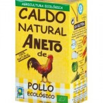 Caja de caldo ecológico de pollo 6 briks