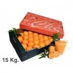 Caja naranja de zumo 15 kg