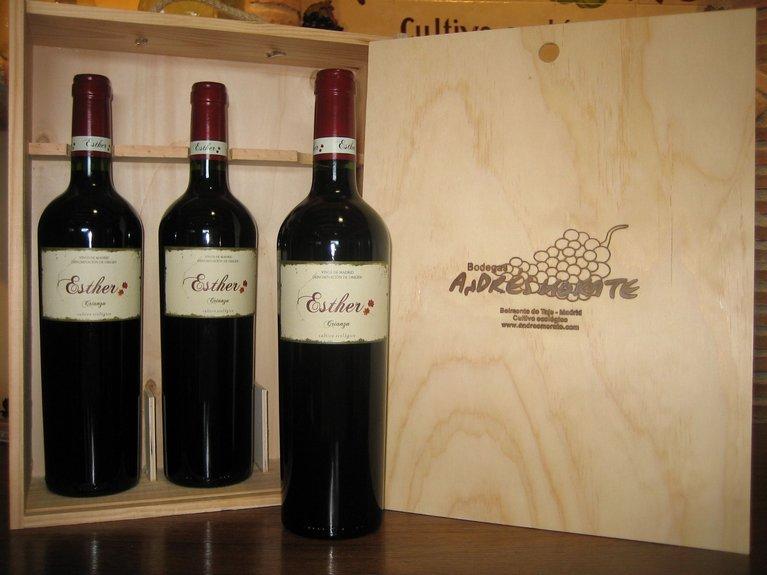 Vino tinto pack tres Andrés Morate