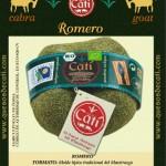 Queso ecológico al romero Cati
