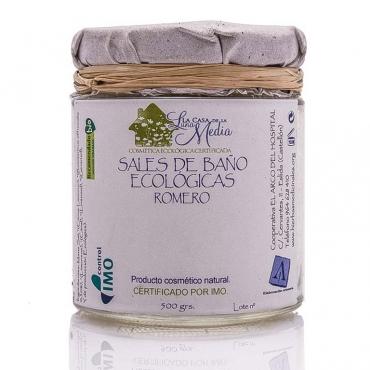Cosmetica ecologica (Sales de baño ecológicas de romero)