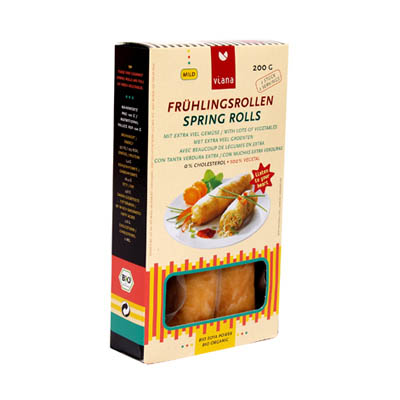Spring rolls solnatural