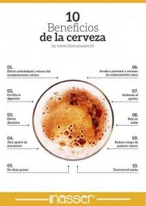 Beneficos de la cerveza